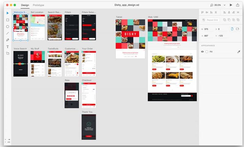 >ADOBE XD CC 35.2.12 MAC & WIN – 界面设计&交互设计一体创意设计工具