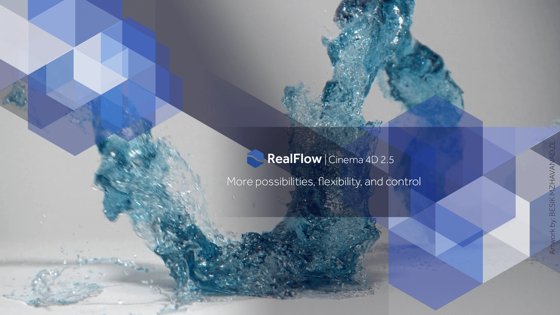 >RealFlow V10.0.0.0135 – 老牌流体粒子插件