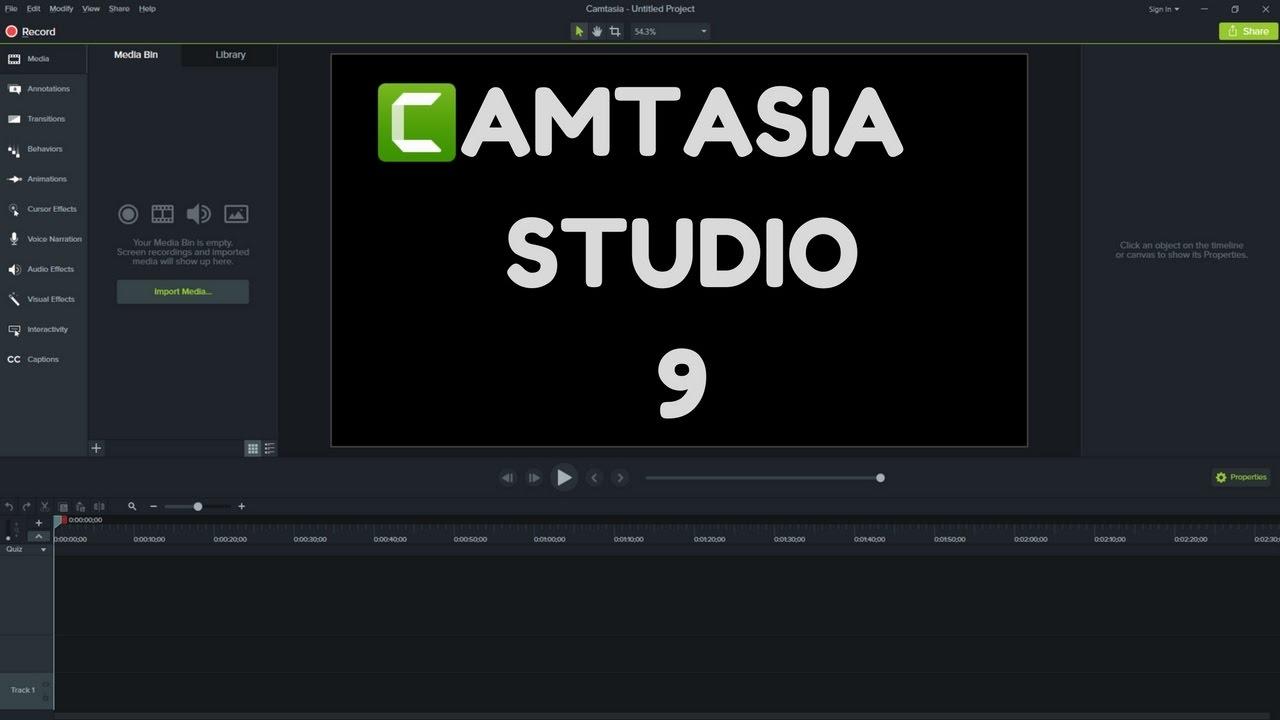 >TechSmith Camtasia Studio 2018.0.7 – 视频录制编辑软件