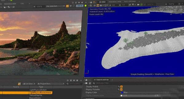 >Isotropix Clarisse iFX V4.0 SP14 WIN&Mac – 高端2D/3D动画软体