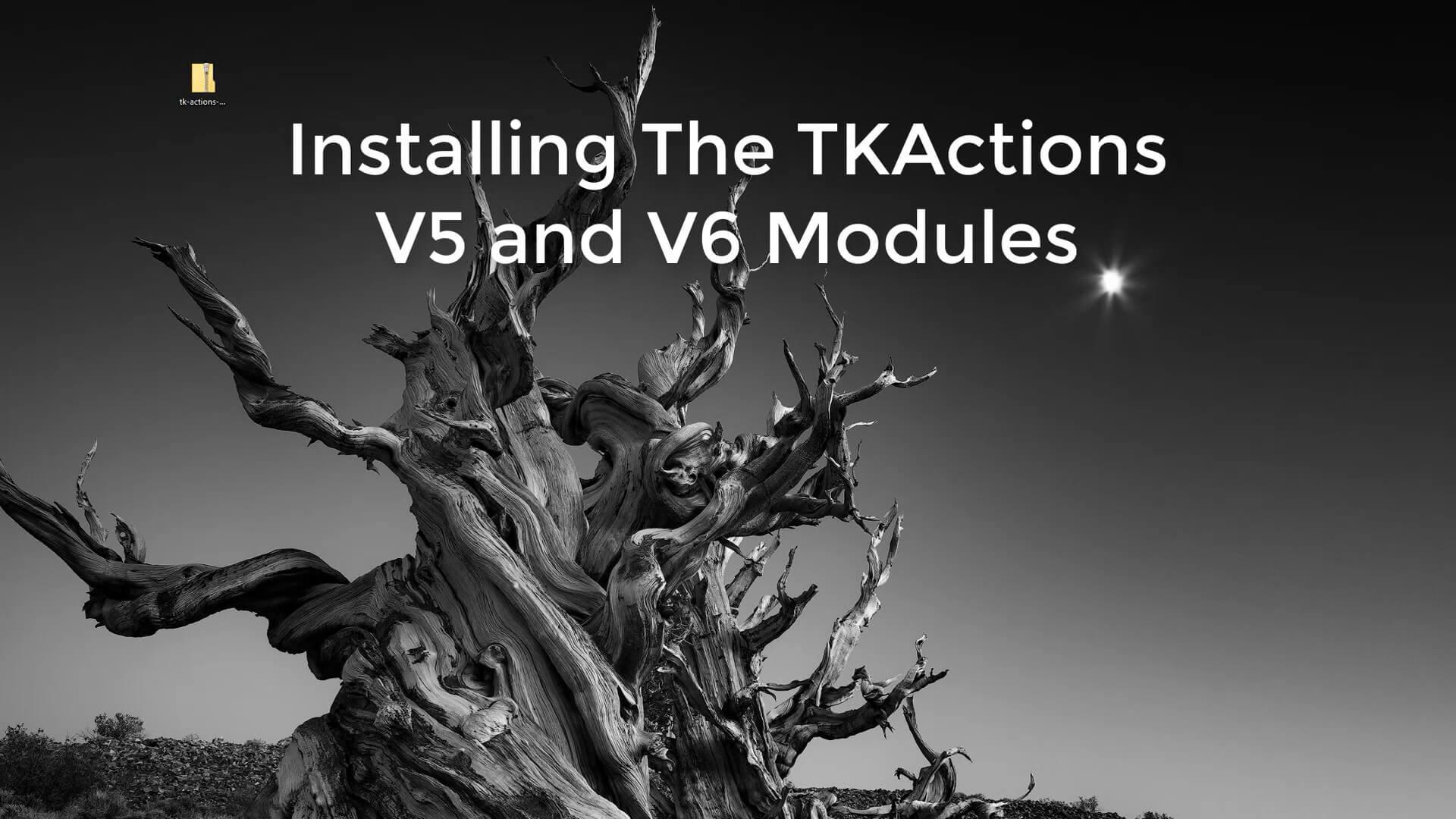 >TKActions V6 – Photoshop最强亮度蒙版插件
