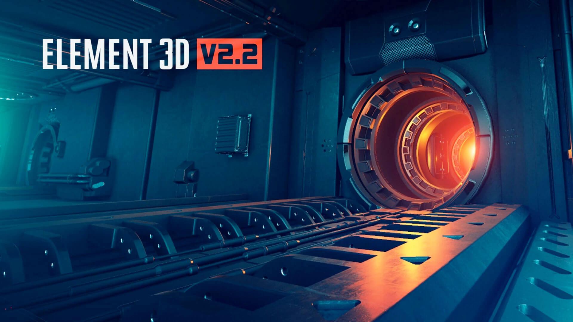 >E3D V2.2.2.2169 WIN MAC – AE最强大的3D插件