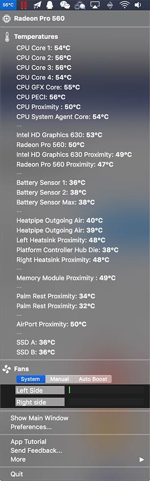 TG Pro 2.32 - Mac上最专业的电脑实时温度监控软件
