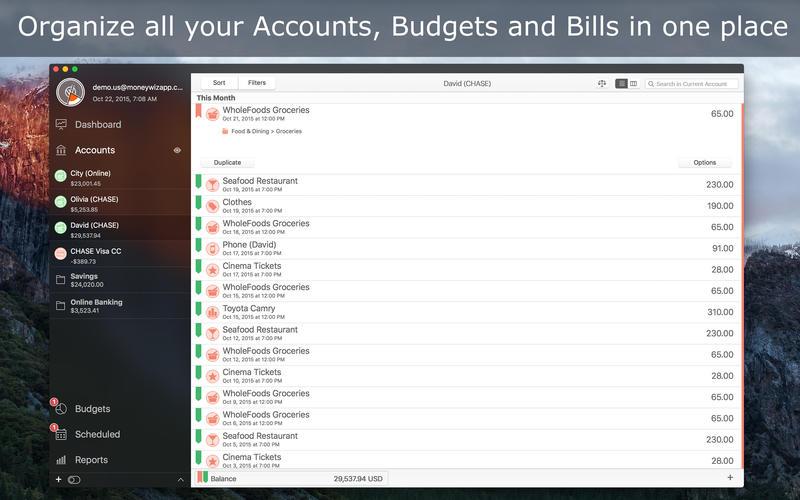 MoneyWiz 2.3.1 – 个人财务管理解决方案