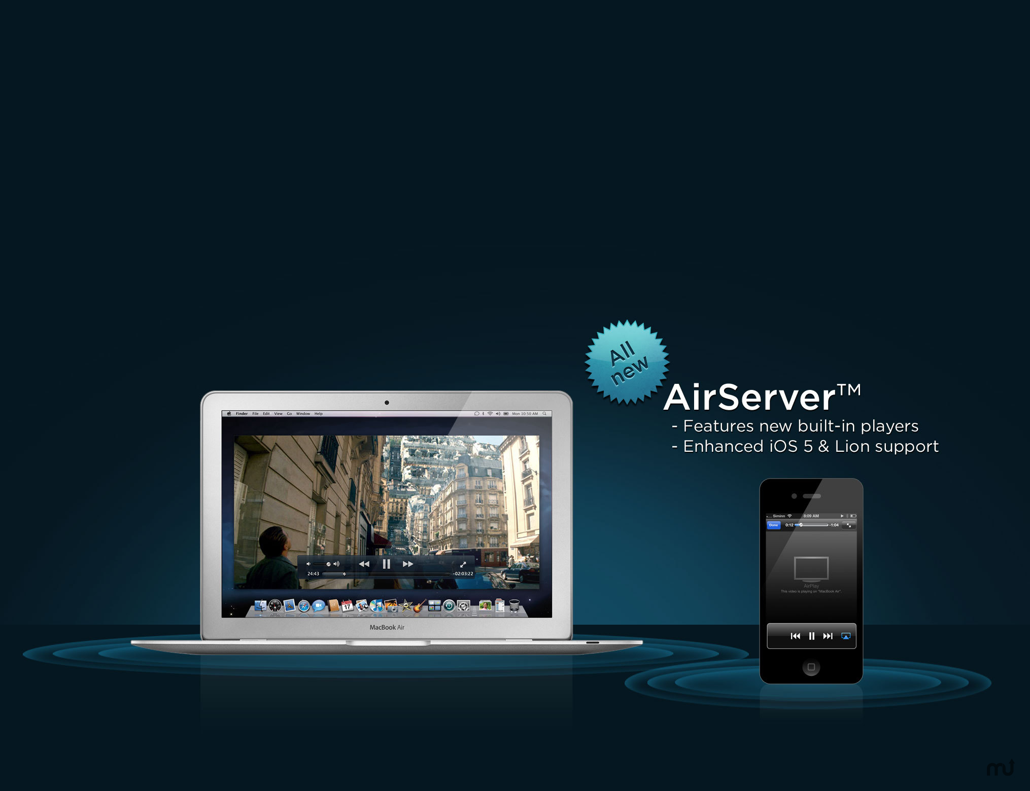 AirServer 7.1.4 - Mac屏投工具