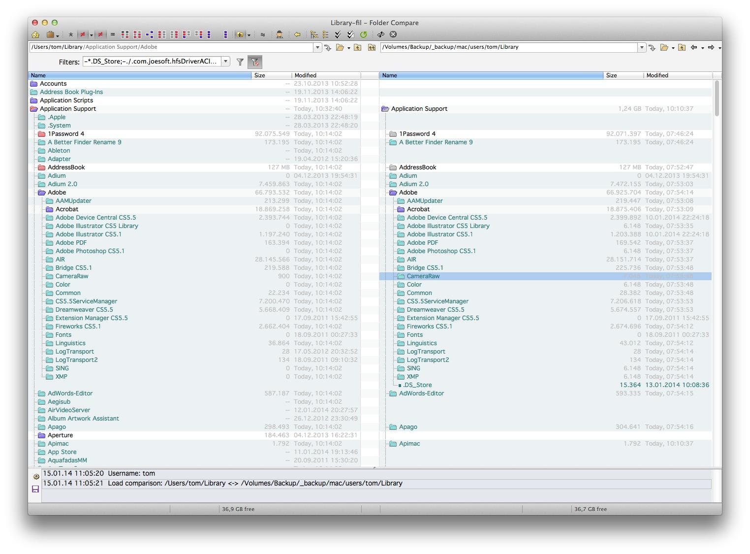 Beyond Compare 4.2.5 – Mac可视化代码对比合并工具