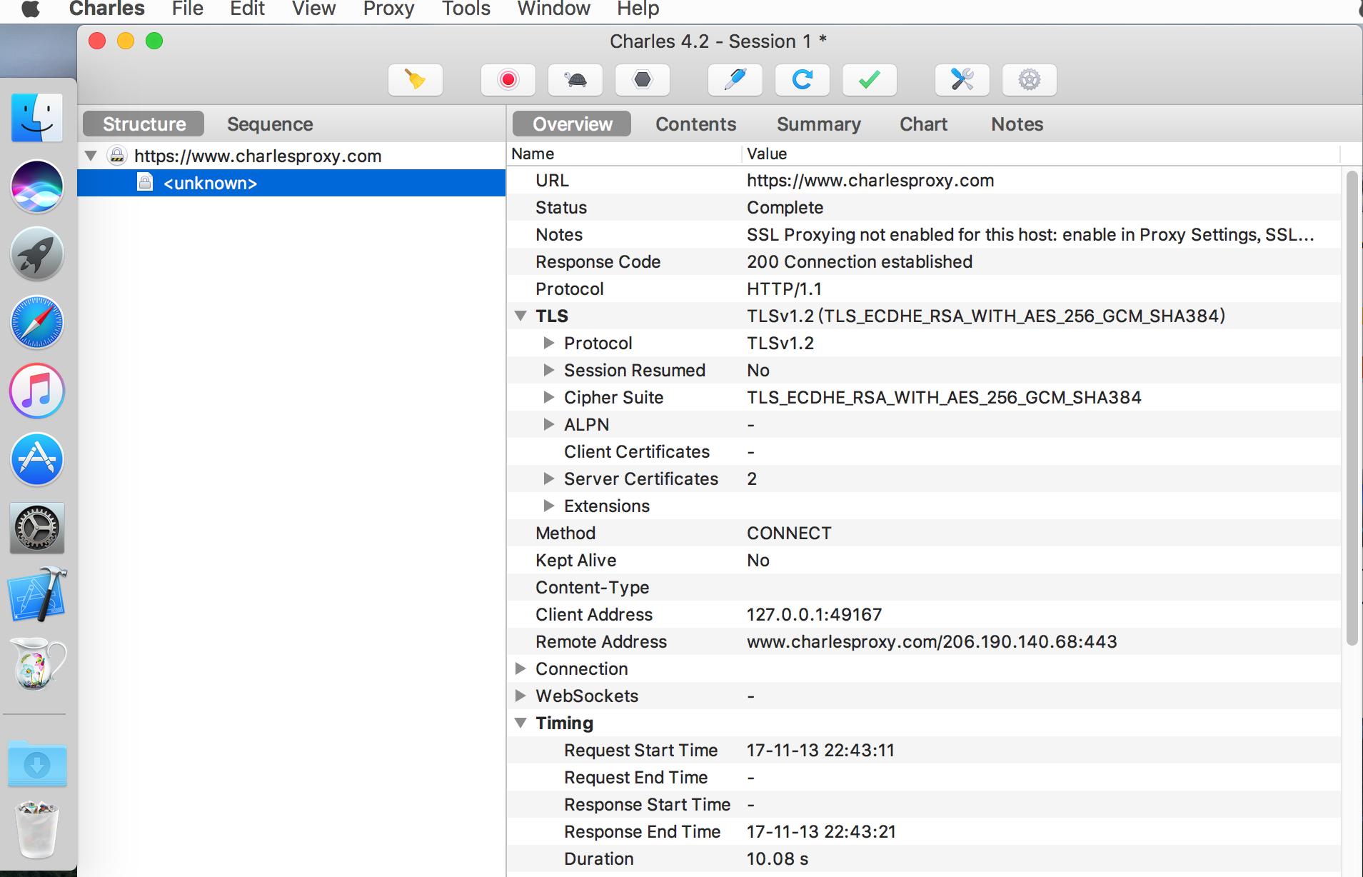Charles 4.2.7 – Mac是一款免费的HTTP信息抓包工具
