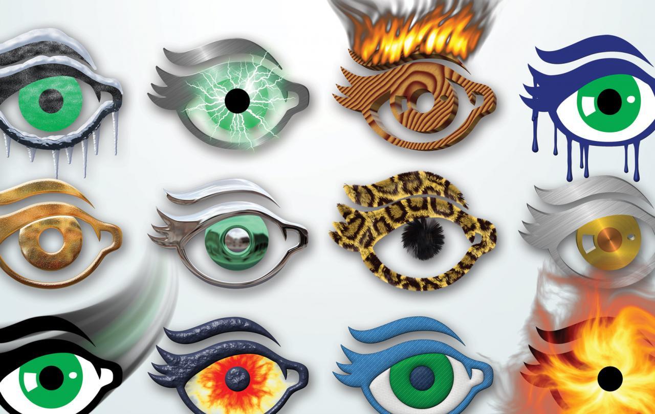 Eye Candy 7.2.1.7 – 30 个专业的 Photoshop 滤镜