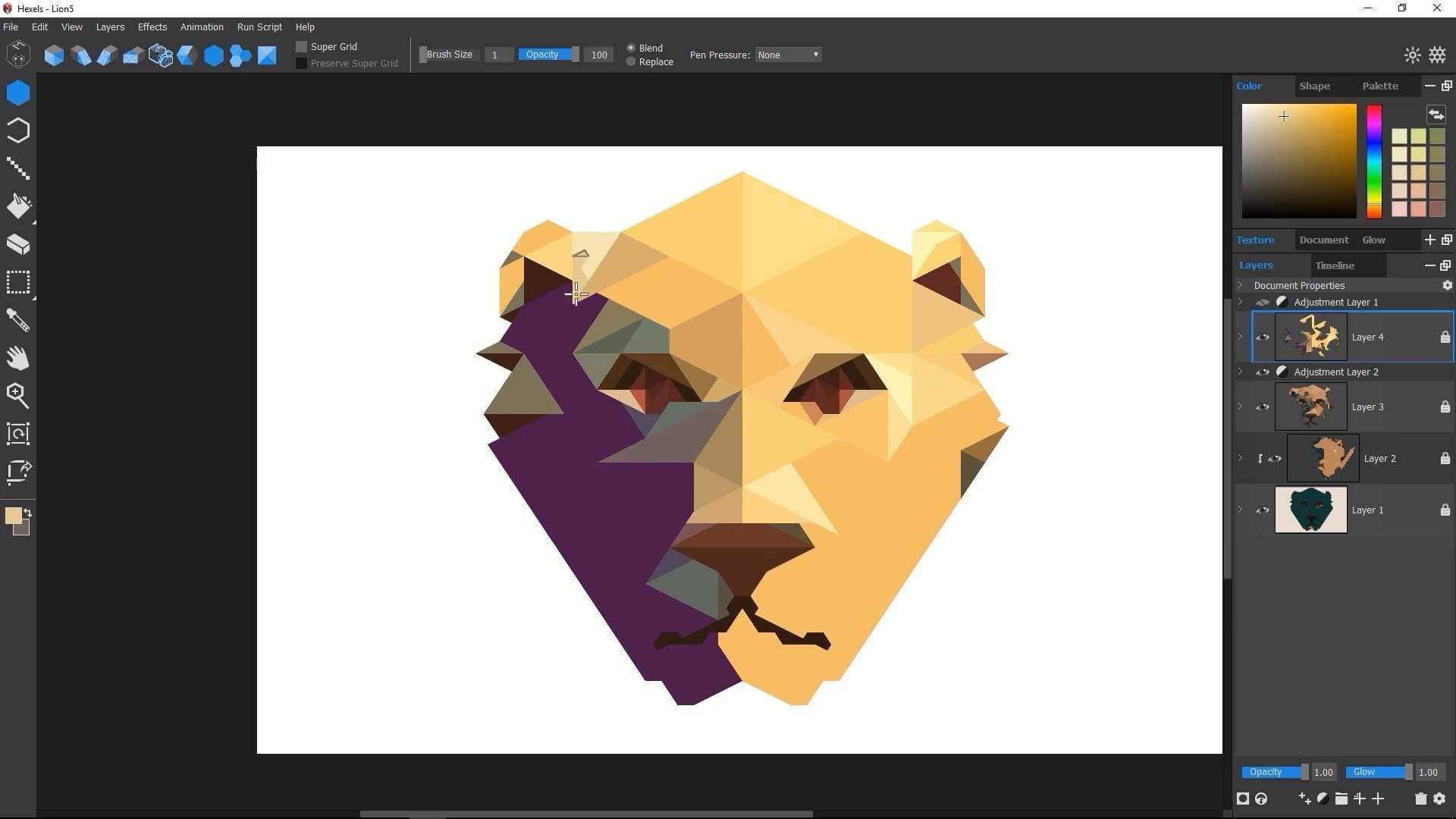 >Marmoset Hexels V3.15 8412 WIN & MAC – 灵巧的网格矢量动画软体