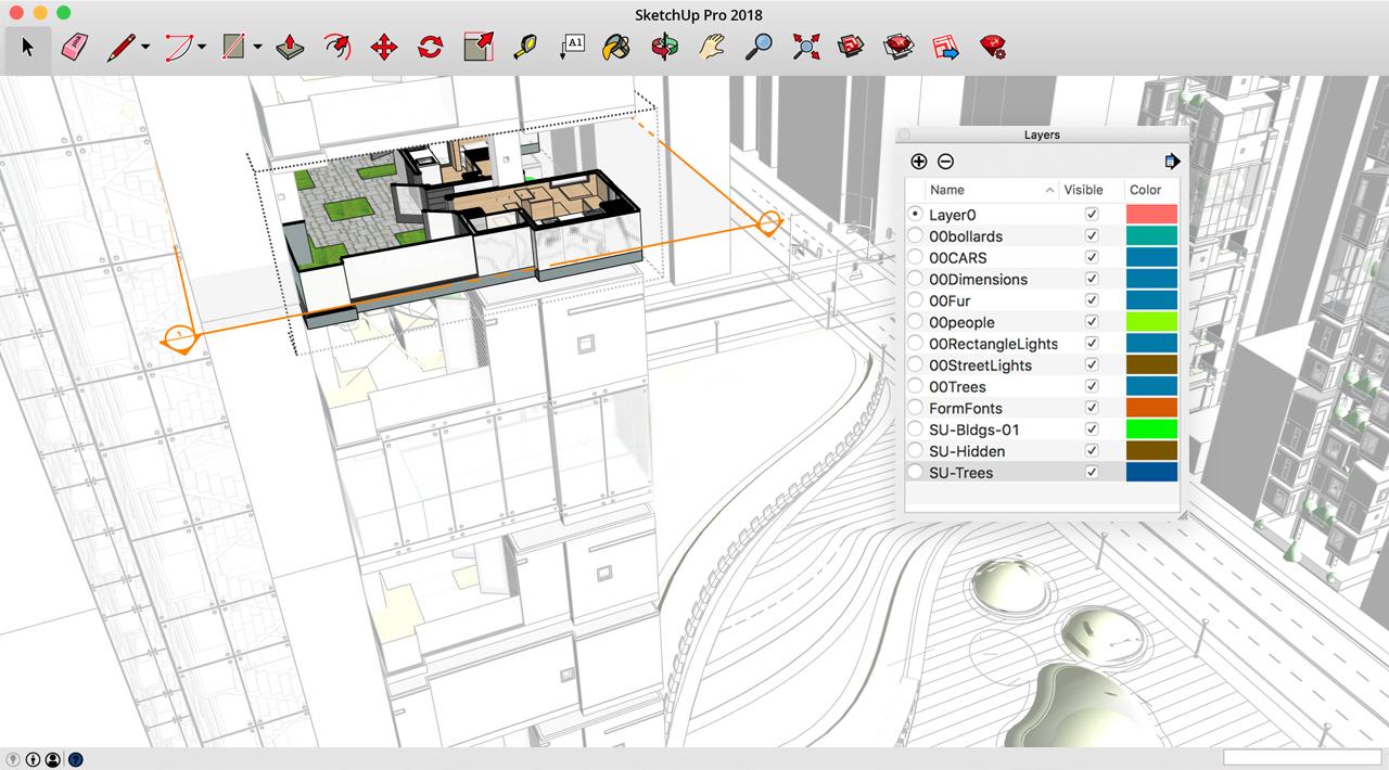 SketchUp 19.0.1684 – MAC简约3D设计概念软件