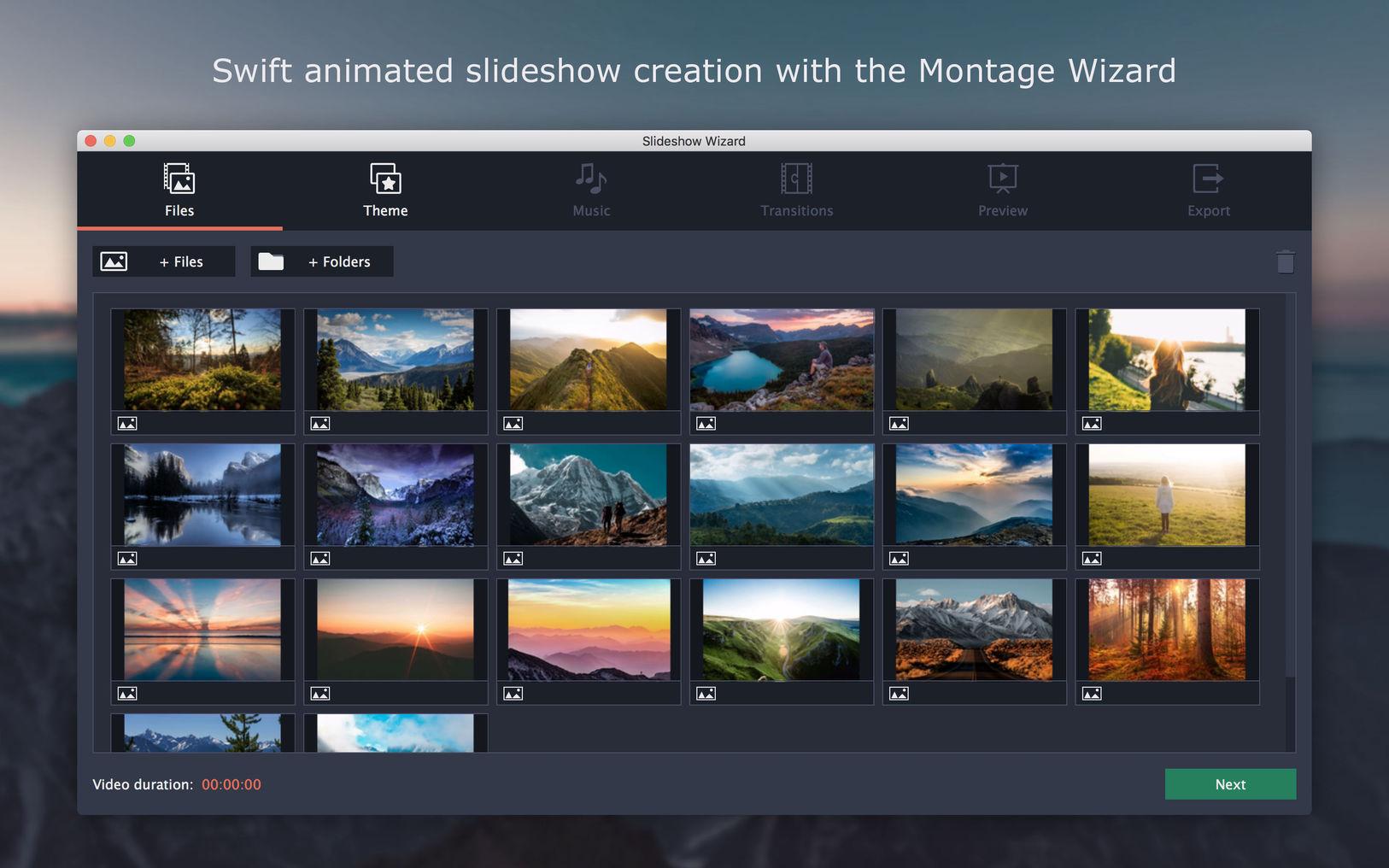 Movavi Slideshow Maker 5.2.0 - MAC上非常强大的幻灯片制作神奇