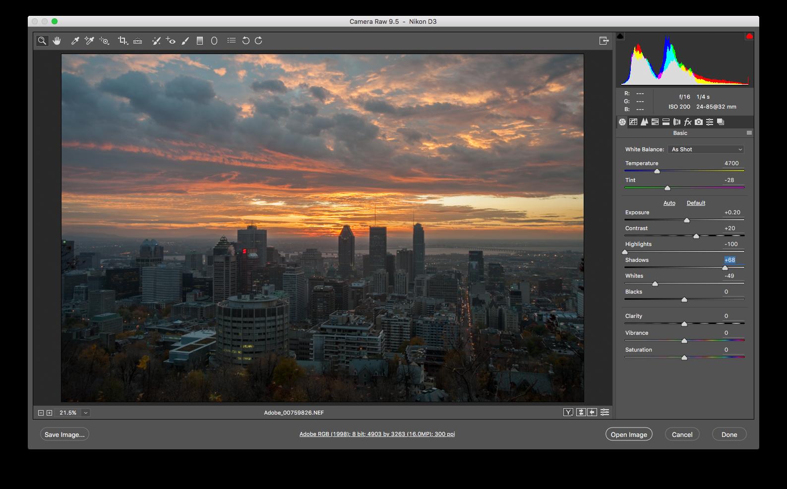 Adobe Camera Raw 11.2 - 款专业的RAW图像处理软件