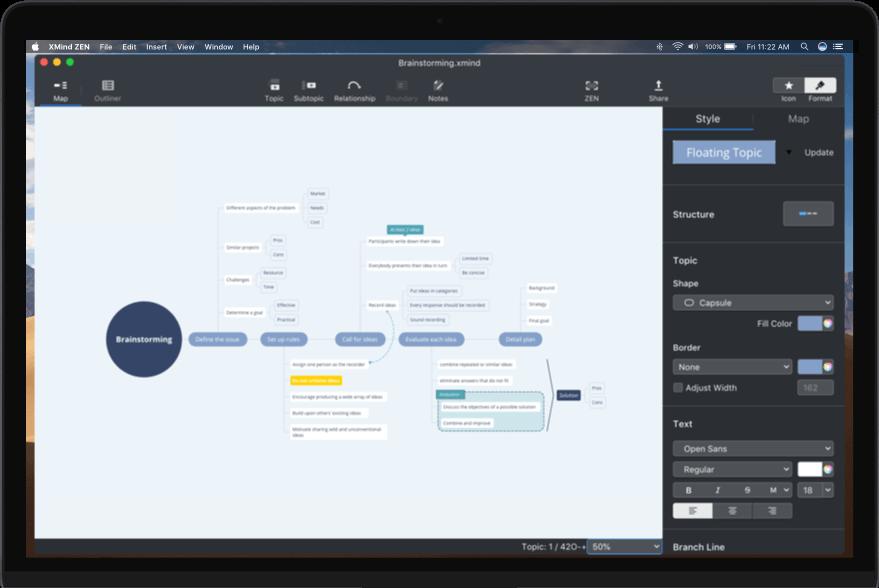 XMind ZEN 9.1.3 - 全新高效好用的思维导图工具