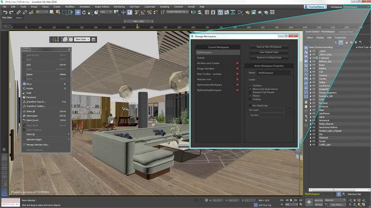 >Autodesk 3DS MAX 2021.3 WIN – 三维建模设计工具鼻祖