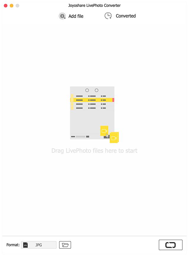 Joyoshare LivePhoto Converter 2.0.0 - Mac平台上的一款照片图片格式转换工具[JPEG, PNG, GIF, BMP, WEBP, TIFF]