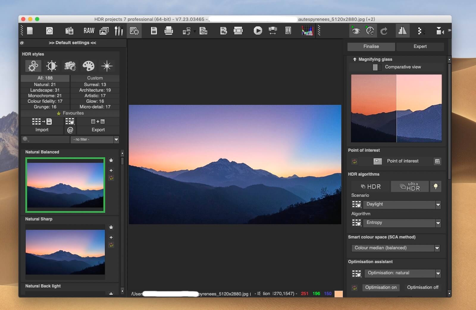 >HDR projects professional 7.23 – 摄影师HDR照片处理工具