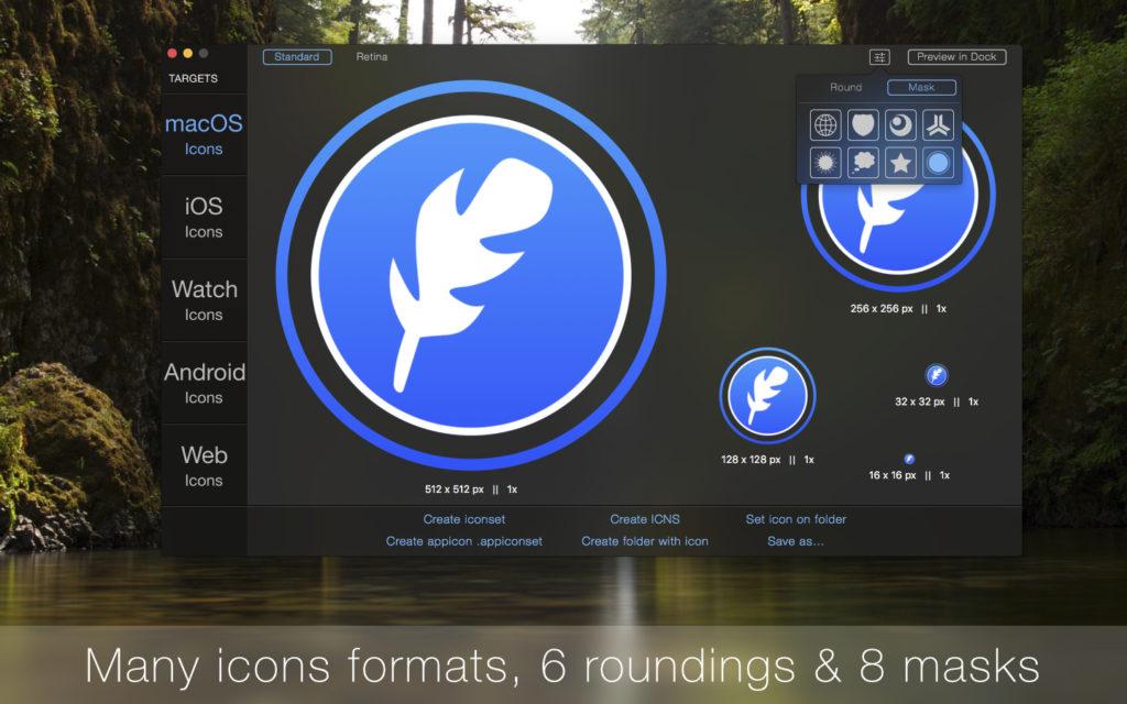 IconFly 3.9 - 生成软件图标的Mac图标制作软件