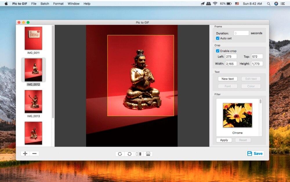 Pictures to GIF 1.4.0 - Mac上好用的图片转动态GIF制作工具