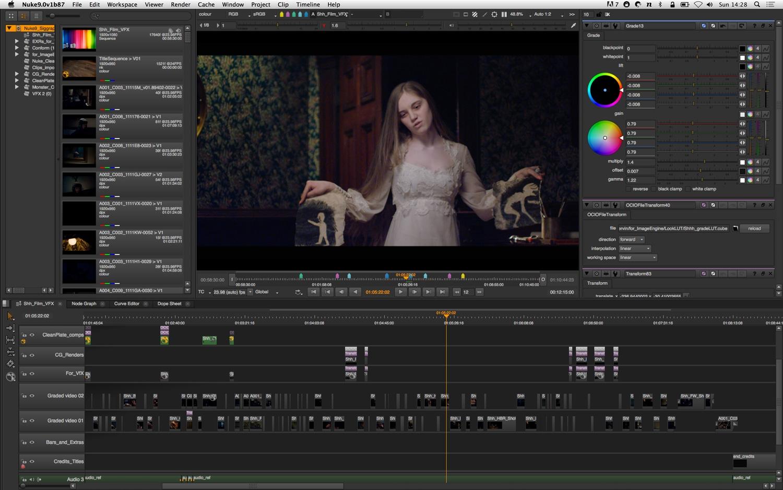 The Foundry Nuke Studio 12.0 v2 - 专业的电影特效制作合成软件