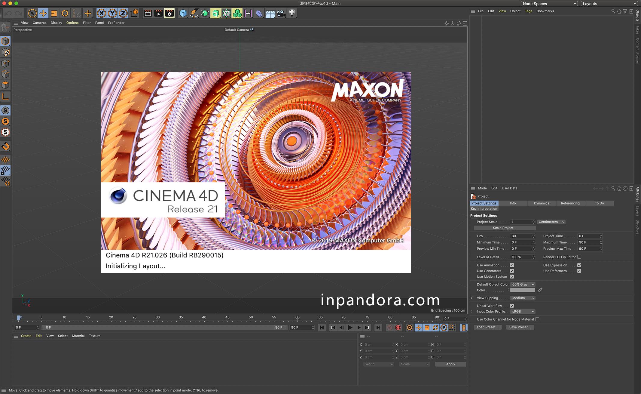 C4D R21.0.26 - 最佳的3D软件破解版 CINEMA 4D R21.0.26 英文[WIN/MAC]