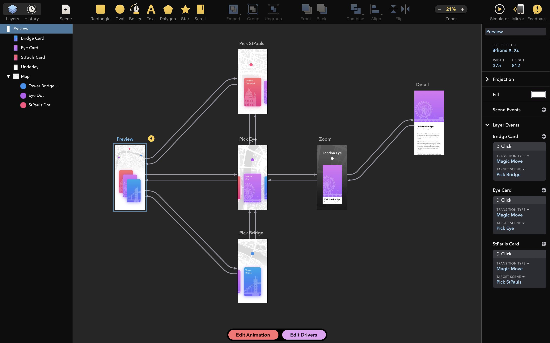 >Drama V2.0.9 MAC —  Paintcode团队精品推出原型、动画和设计与一体工具